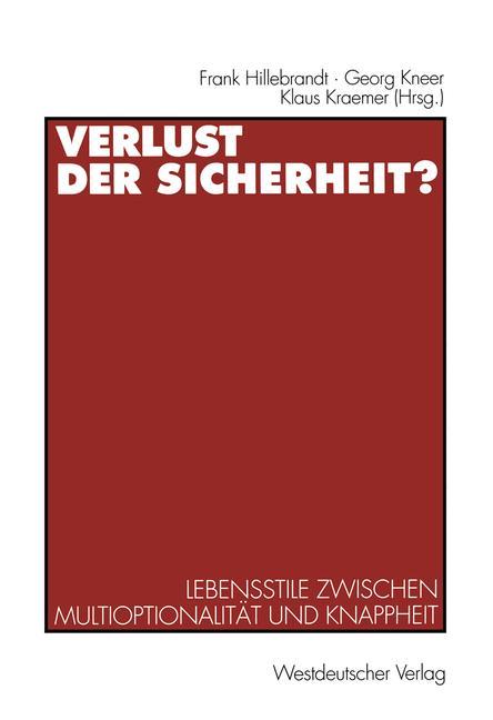 Cover of 'Verlust der Sicherheit?'