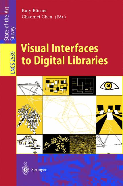 Cover of 'Visual Interfaces to Digital Libraries'