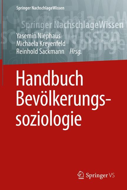 Cover of 'Handbuch Bevölkerungssoziologie'