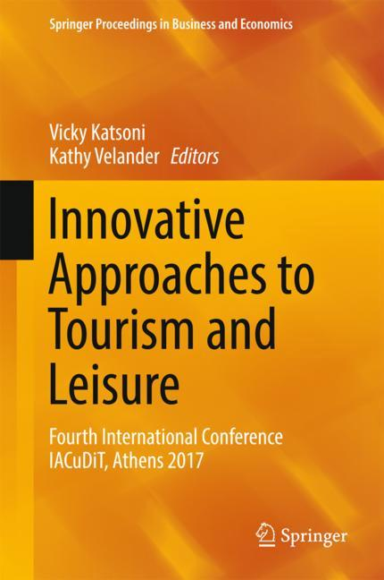 Cover of 'Innovative Approaches to Tourism and Leisure'