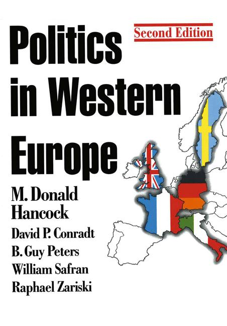 Cover of 'Politics in Western Europe'