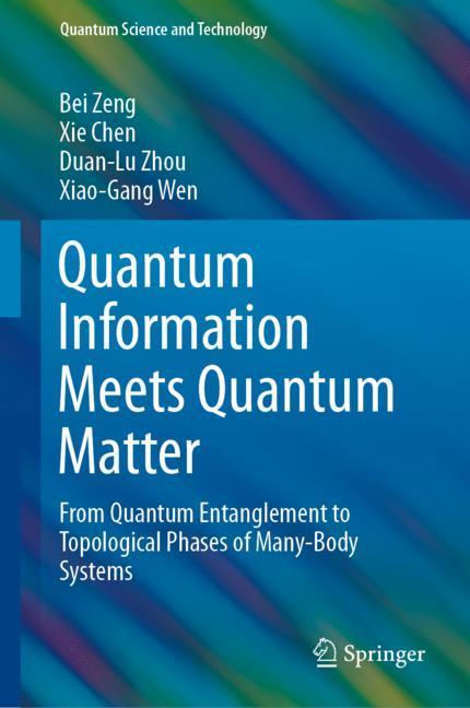 Cover of 'Quantum Information Meets Quantum Matter'
