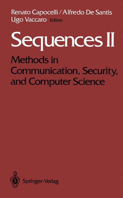 Cover of 'Sequences II'