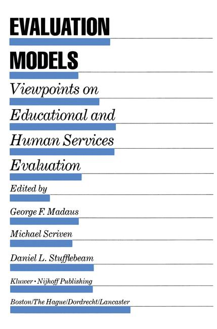 Cover of 'Evaluation Models'