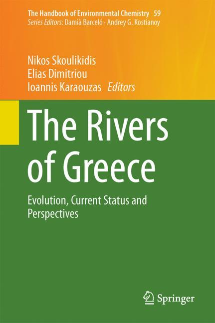 Cover of 'The Rivers of Greece'
