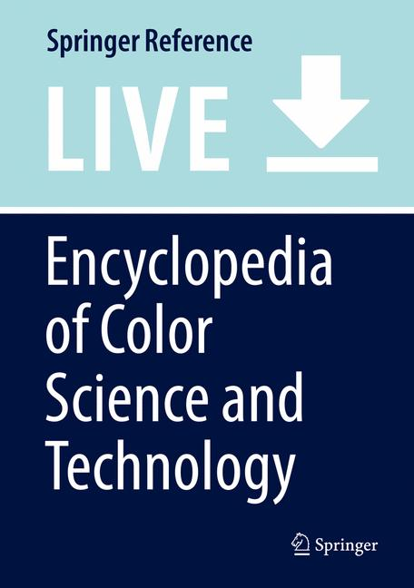 Cover of 'Encyclopedia of Color Science and Technology'