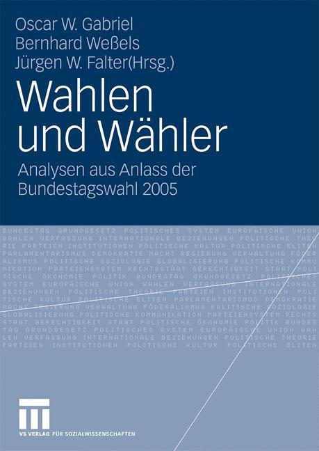 Cover of 'Wahlen und Wähler'