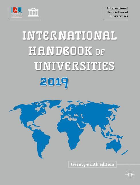 Cover of 'International Handbook of Universities 2019'