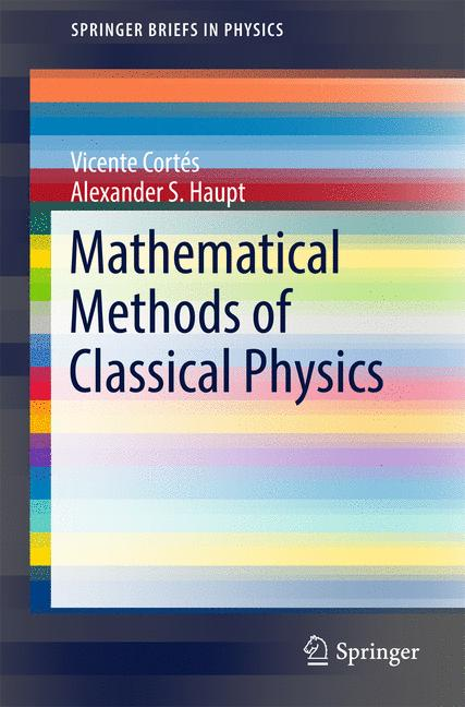 Cover of 'Lecture Notes on Mathematical Methods of Classical Physics'