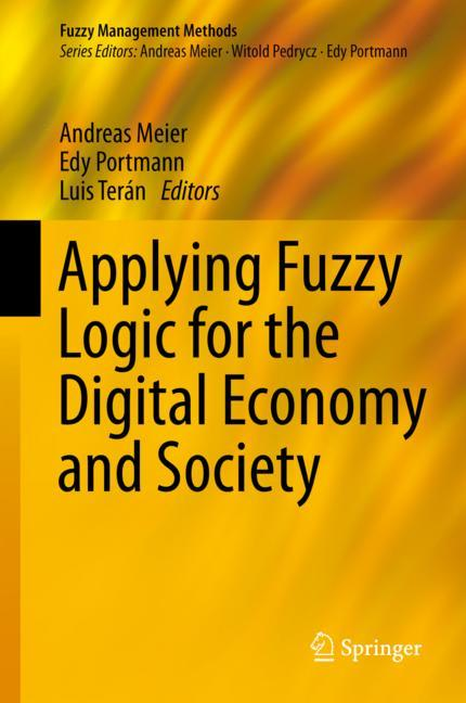 Cover of 'Applying Fuzzy Logic for the Digital Economy and Society'