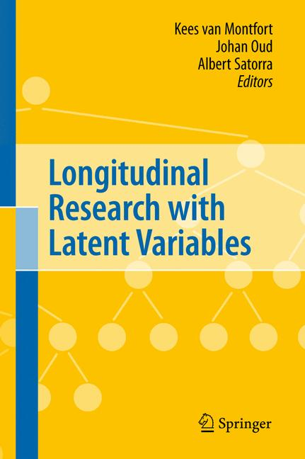 Cover of 'Longitudinal Research with Latent Variables'