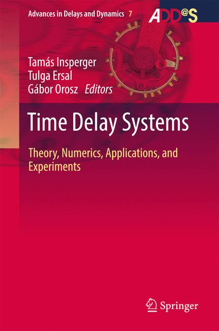 Cover of 'Time Delay Systems'