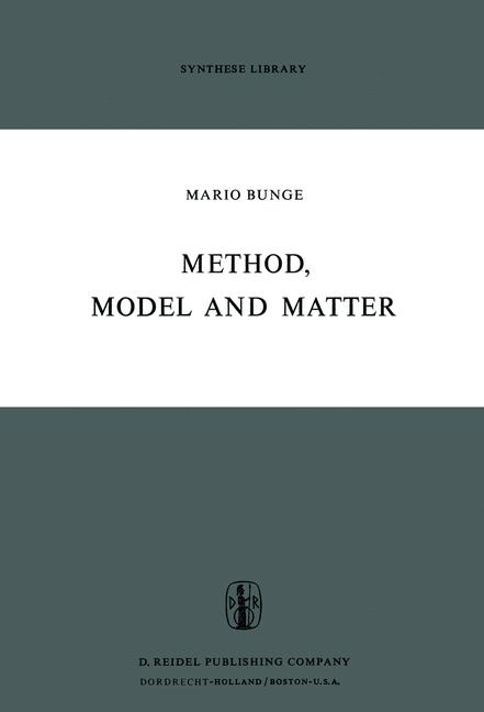 Cover of 'Method, Model and Matter'