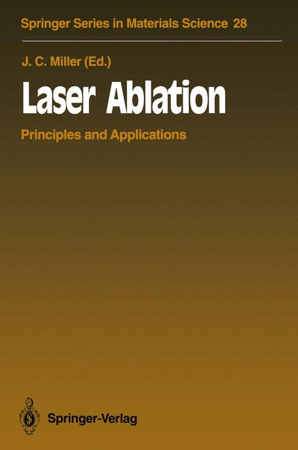 Cover of 'Laser Ablation : Principles and Applications'