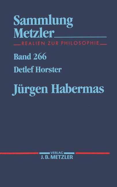 Cover of 'Jürgen Habermas'