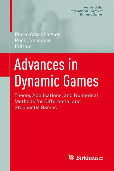 Cover of 'Advances in Dynamic Games'