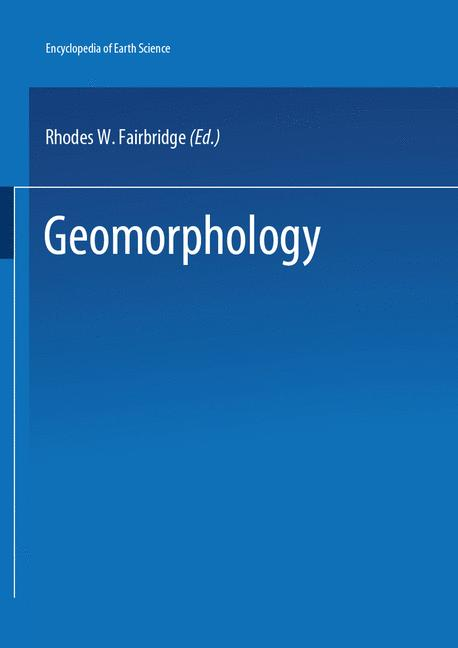 Cover of 'Geomorphology'