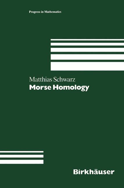 Cover of 'Morse Homology'