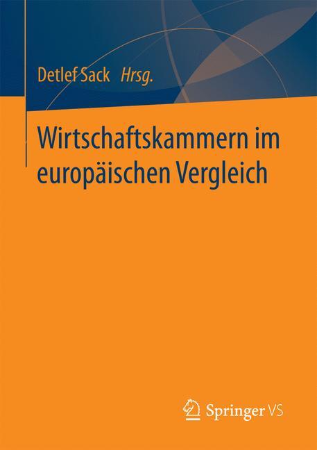 Cover of 'Wirtschaftskammern im europäischen Vergleich'