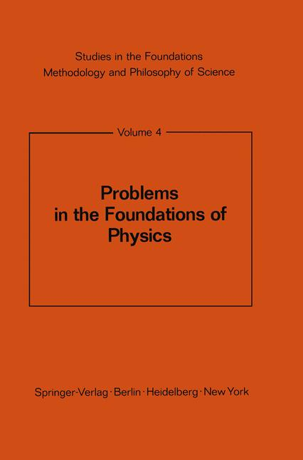 Cover of 'Problems in the Foundations of Physics'