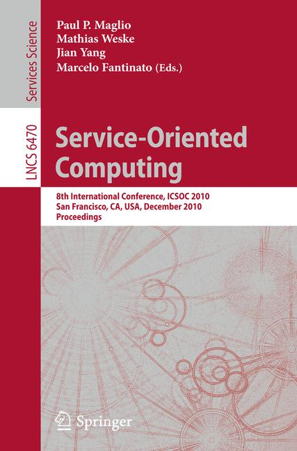 Cover of 'Service-Oriented Computing'
