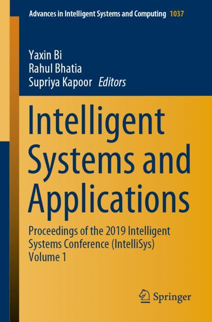 Cover of 'Intelligent Systems and Applications'