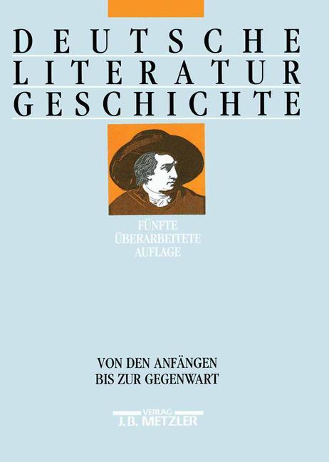 Cover of 'Deutsche Literaturgeschichte'