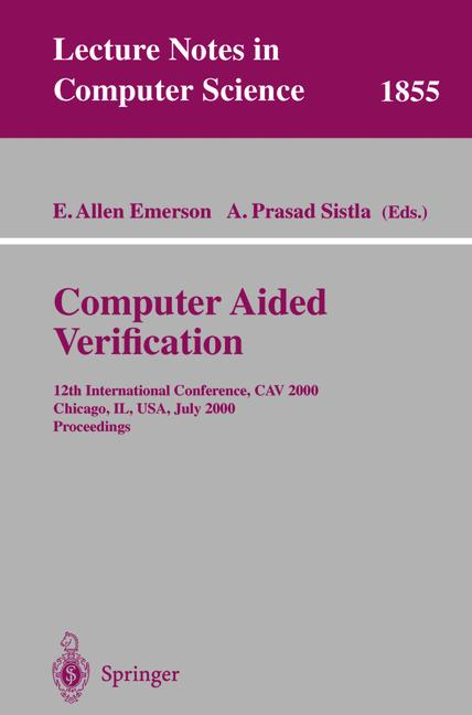 Cover of 'Computer Aided Verification'