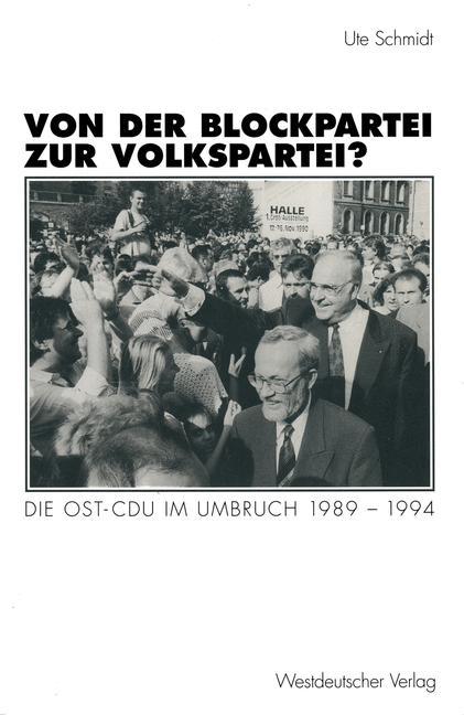 Cover of 'Von der Blockpartei zur Volkspartei?'
