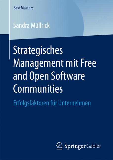 Cover of 'Strategisches Management mit Free and Open Software Communities'