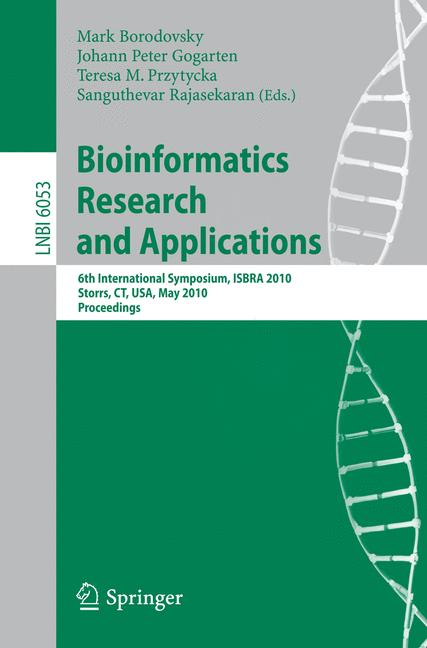 Cover of 'Bioinformatics Research and Applications'