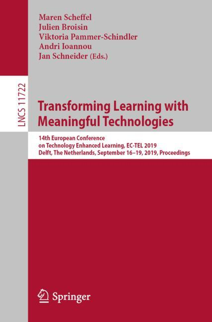 Cover of 'Transforming Learning with Meaningful Technologies'