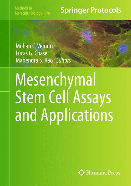 Cover of 'Mesenchymal Stem Cell Assays and Applications'