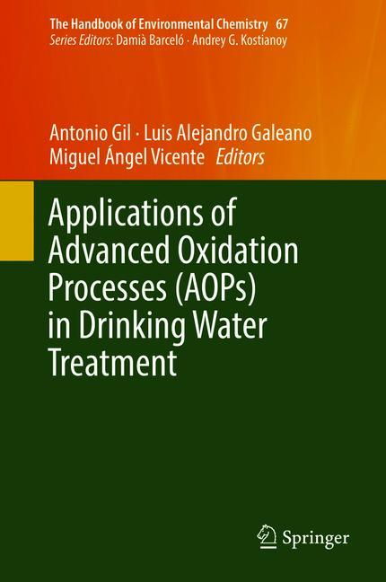 Cover of 'Applications of Advanced Oxidation Processes (AOPs) in Drinking Water Treatment'