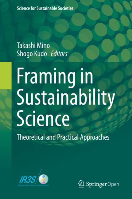 Cover of 'Framing in Sustainability Science'