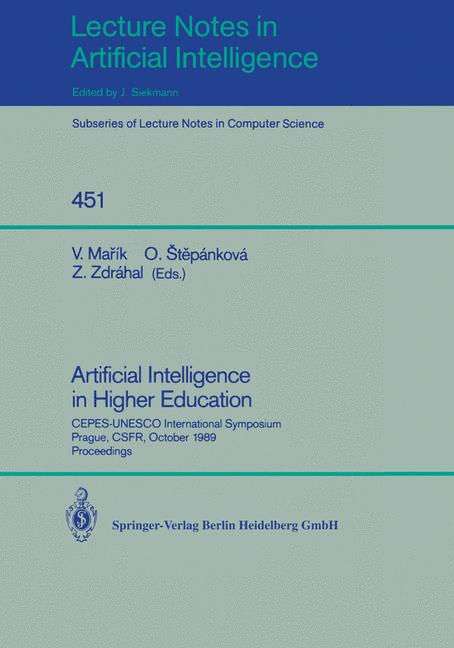 Cover of 'Artificial Intelligence in Higher Education'