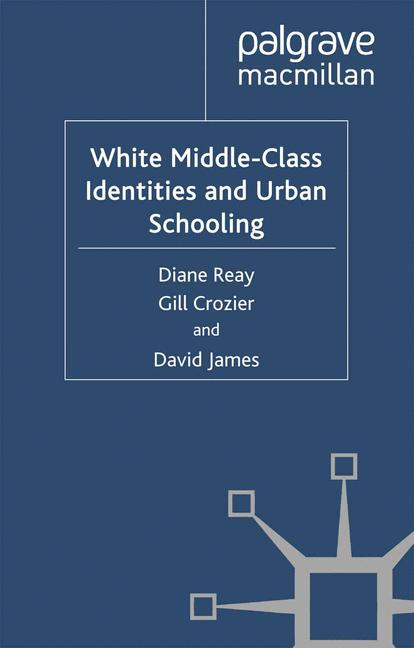 Cover of 'White Middle-Class Identities and Urban Schooling'