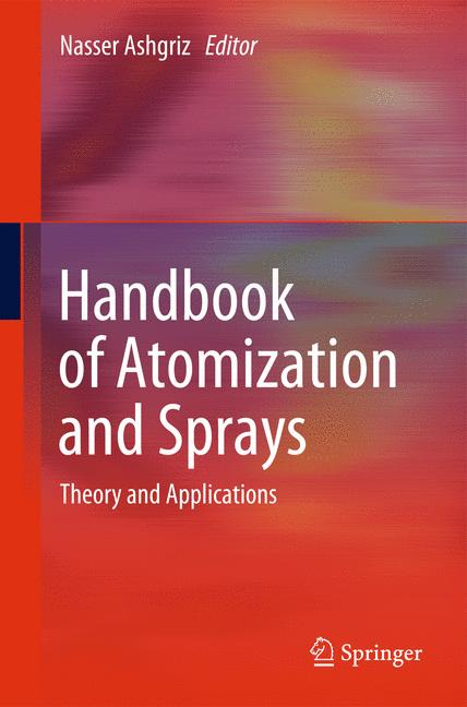 Cover of 'Handbook of Atomization and Sprays'