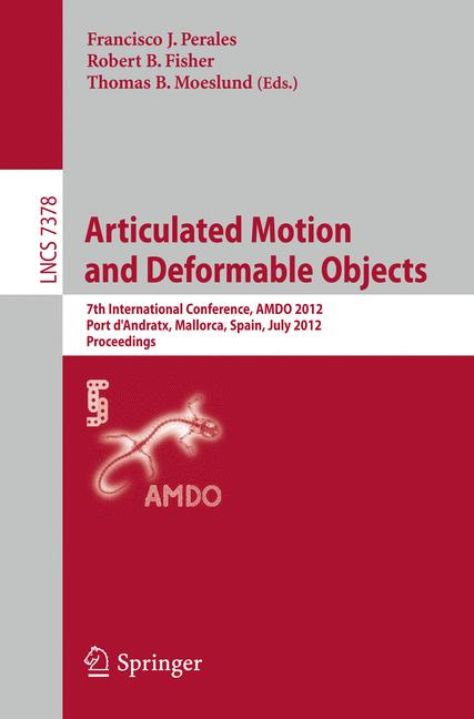Cover of 'Articulated Motion and Deformable Objects'