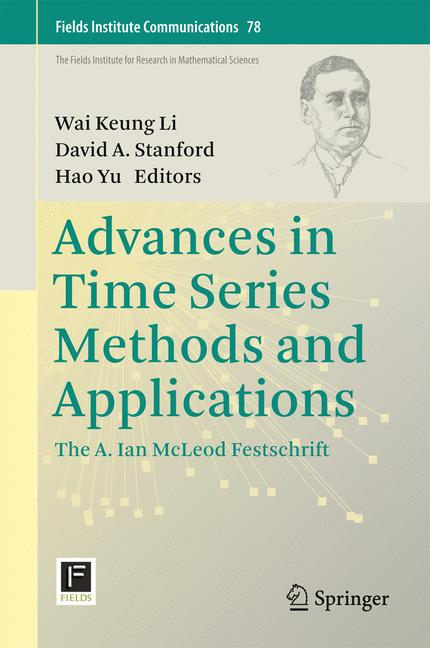 Cover of 'Advances in Time Series Methods and Applications'