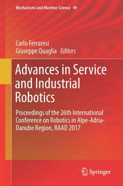 Cover of 'Advances in Service and Industrial Robotics'