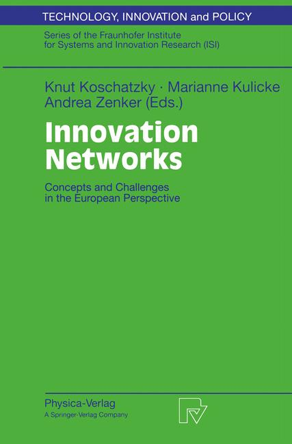Cover of 'Innovation Networks'