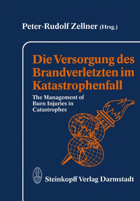 Cover of 'Die Versorgung des Brandverletzten im Katastrophenfall'