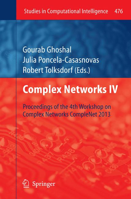 Cover of 'Complex Networks IV'
