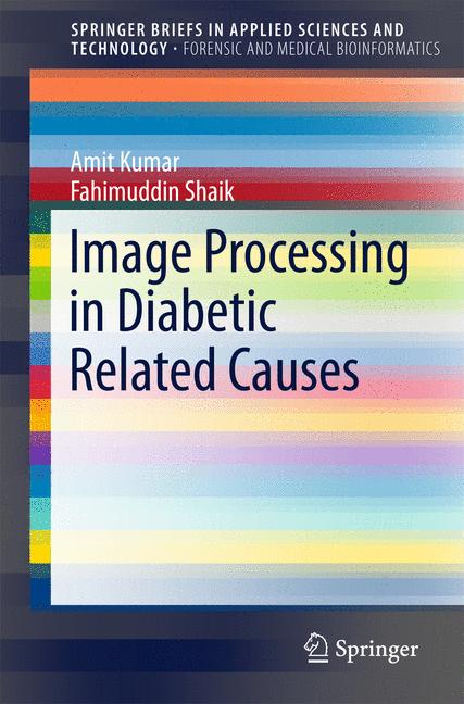 Cover of 'Image Processing in Diabetic Related Causes'