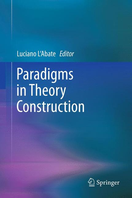 Cover of 'Paradigms in Theory Construction'