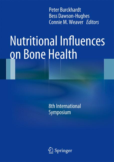 Cover of 'Nutritional Influences on Bone Health'