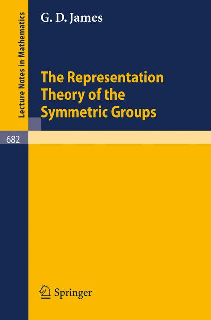 Cover of 'The Representation Theory of the Symmetric Groups'