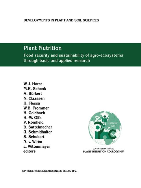 Cover of 'Plant Nutrition'