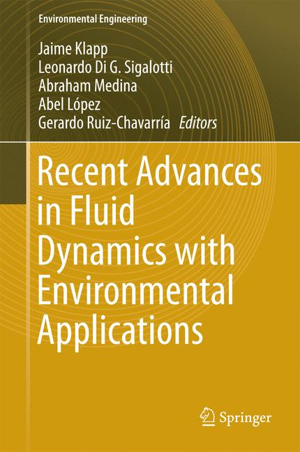 Cover of 'Recent Advances in Fluid Dynamics with Environmental Applications'